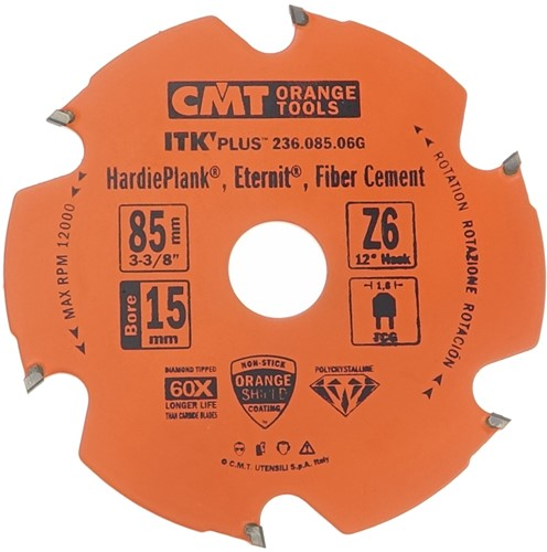 Cirkelzaag voor extreem abrasieve materialen