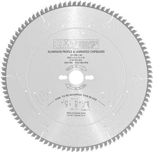 Cirkelzaag voor non-ferro metalen en harde materialen