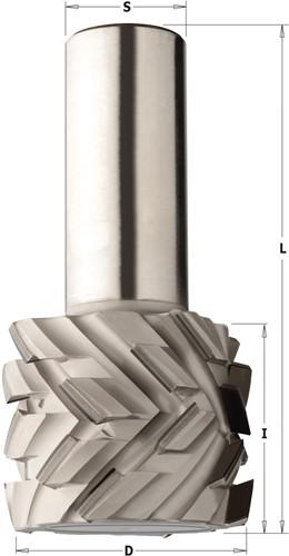 Mèches en diamant polycristalin, 45° les plaquettes DP