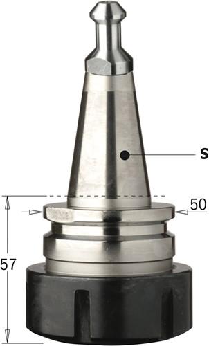 Precisie-spantanghouder ISO30 ER40
