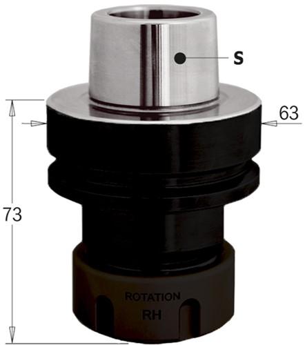HSK precisie-spantanghouder ER32