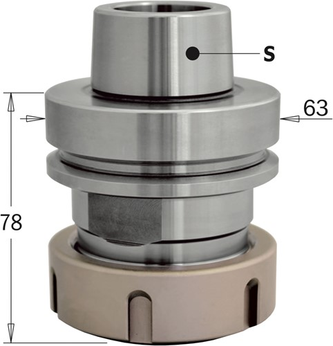 HSK precisie-spantanghouder ER40
