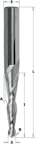 2D/3D spiraalfrees HWM