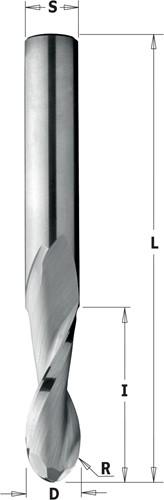 Fraise hélicoïdale profil convexe, HWM