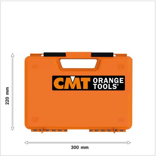 Lege CMT koffer voor freeskop (klein)