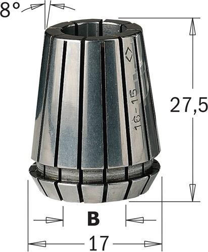 Pince de serrage ER16