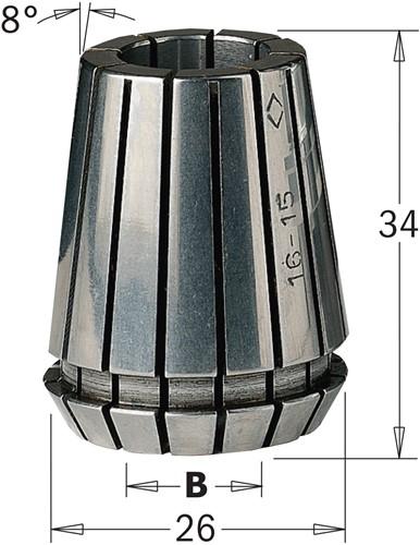Pince de serrage ER25