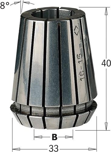 Pince de serrage ER32 pour 183000/100/200/250/300/400